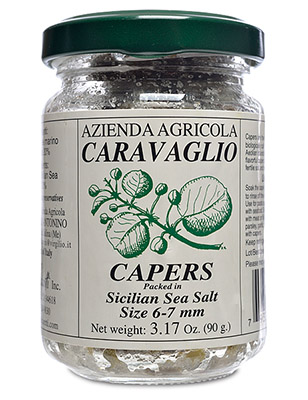 Salted Capers from Salina (caliber 6-7 mm)